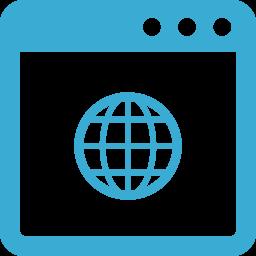 ネット接続のアイコン